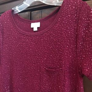 Holiday sparkling dress S